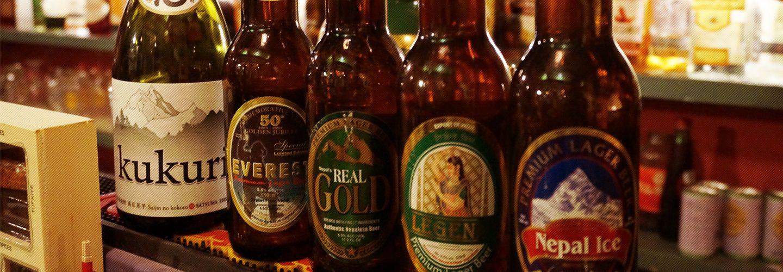 多種多様なネパールビールを神戸でお召し上がり位いただけます